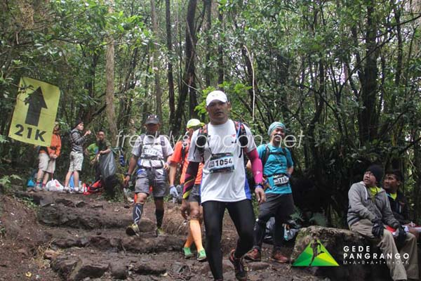 Gede Pangrango Half Marathon21K