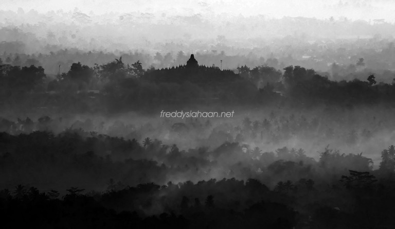 Borobudur Temple From A Distance_WP
