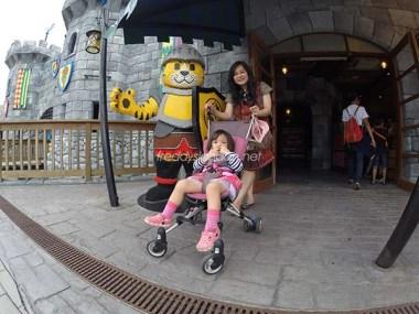 Davina dengan Strollernya