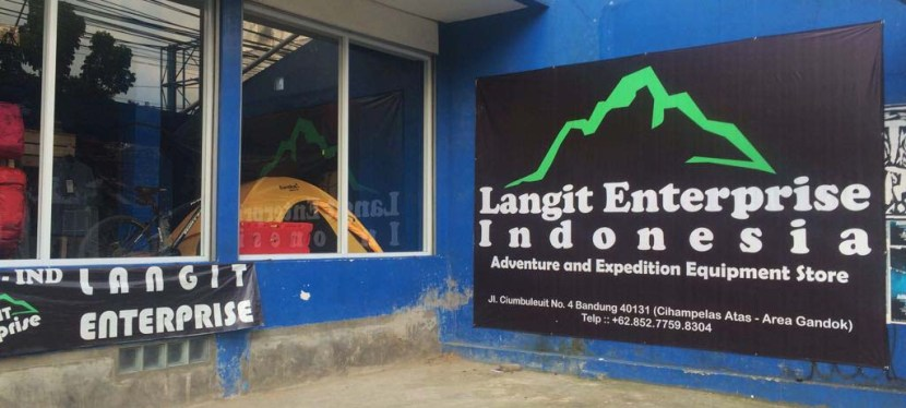Surga Belanja Outdoor Equipment, Langit Enterprise Indonesia